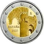 Испания 2 евро 2021 Толедо — Старый город
