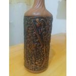 Бутылка глиняная