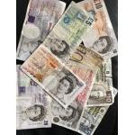 Старые фунты Англии, Шотландии