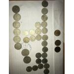 Монетки из СССР и кошелёчек