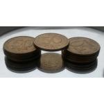 монета 50 руб. перевертыш